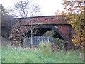 SJ3463 : Broughton Railway Bridge by John S Turner