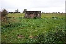 TF5315 : A pill box near Terrington St John by Jonathan Billinger