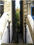 TQ2804 : Garden Entrance, Norton Road by Simon Carey