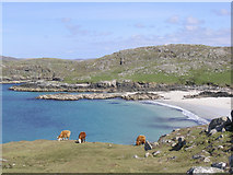 NB1340 : Traigh Bosta on Great Bernera by Walter Baxter