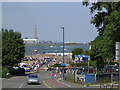 TQ7869 : Gillingham Strand, Medway by Mike Clarke