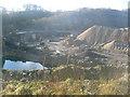 SK2265 : End of an era at Shiningbank Quarry by John Poyser