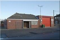 NZ7118 : Loftus fire station by Kevin Hale