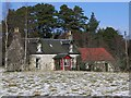 NJ0121 : Torniscar cottage by Roy Turnbull