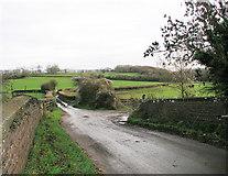 ST1273 : Farm land at Wrinstone, Wenvoe by Tony Hodge