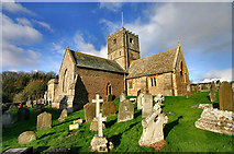 ST3970 : St Andrews church by Tim