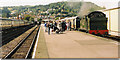 SS9746 : Departure from Minehead station. by Roger Cornfoot