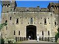 ST4888 : Caldicot Castle by RAY JONES