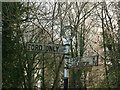 NZ3209 : Old North Riding Signpost at Eryholme by Martin Kirk