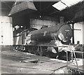 NZ3564 : Tyne Dock locomotive shed. by Roger Cornfoot