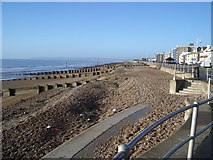 TQ7306 : The Beach at Bexhill by Nigel Stickells