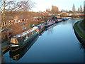 SJ9801 : Sneyd Wharf by Edward Hunt