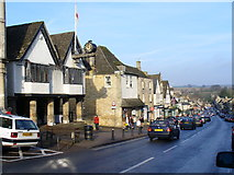SP2512 : High Street, Burford by Colin Smith