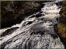 NH4591 : Black Water Burn at Croick by Donald H Bain
