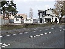 SJ3464 : The Redundant Broughton and Bretton Railway Station by John S Turner