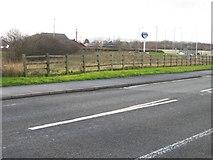 SJ3464 : Mold Junction Railway Line? by John S Turner