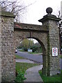 TQ0151 : Archway into Ganghill by Colin Smith