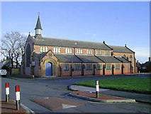 NZ2783 : St  John's Church, Bedlington Station by george hurrell
