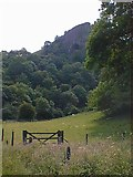 SK0954 : Thor's Cave from Manifold Valley by Alan Heardman
