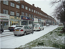 TQ2996 : Bramley Parade, N14 looking south-west by Christine Matthews