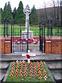 ST2189 : Machen War Memorial by Colin Smith