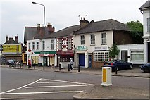 TQ1785 : Sudbury Town Shops by Russell Trebor