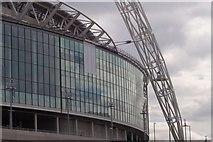 TQ1985 : Wembley Stadium by Russell Trebor