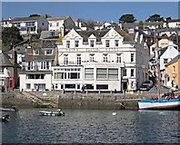 SW8433 : The Harbourside at St Mawes by Tony Atkin