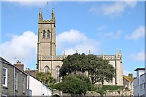 SW4730 : St Mary's Church Penzance by Tony Atkin