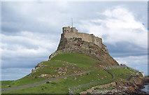 NU1341 : Lindisfarne Castle by Maigheach-gheal