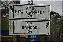 J5880 : Pre-Worboys, Donaghadee by Albert Bridge