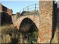 SJ8908 : Footbridge over the Mill Race by John M