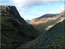 NY2114 : Honister Pass by David Brown