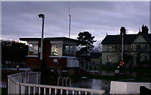 SO8453 : Diglis lock levelled by the floods by Andrew Darge