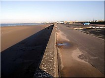 NS3321 : Ayr prom and beach by Gordon Brown