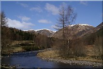 NO2876 : River South Esk at Aucharn by Mike Pennington