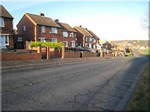 NZ3549 : Seaham Road, Houghton-le-Spring by Oliver Dixon