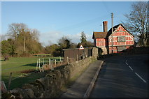 SO3951 : Timber-framed cottage, Weobley by Philip Halling