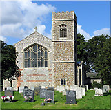 TG0934 : St Peter & St Paul, Edgefield, Norfolk by John Salmon
