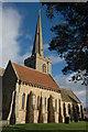 SO9236 : Bredon church by Philip Halling