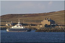 HU4841 : Bressay ferry by Mike Pennington
