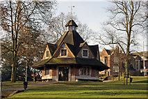 SP0481 : The Rest House, Bournville Village Green by Phil Champion
