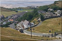 SH7783 : Great Orme tram by Mike Pennington