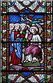 TF9126 : St Mary, Colkirk, Norfolk - Window detail by John Salmon