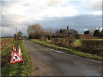 SE4169 : Sandy Lane, Humberton, North Yorkshire by Gordon Hatton
