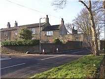 SE1421 : Houses off Toothill Lane, Rastrick by Humphrey Bolton