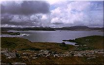 NB1338 : West Loch Roag from Beinn an Toib by Julian Paren