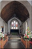 TQ6757 : St Mary, West Malling, Kent - East end by John Salmon
