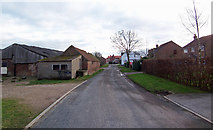 TA1345 : Rise Lane, Catwick by David Wright