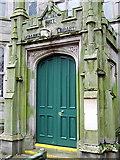NS2776 : Watt Library entrance by Thomas Nugent